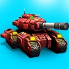 Block Tank Wars 2 MOD lot of money