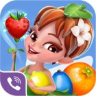 Viber Fruit Adventure MOD many lives