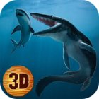 Sea Monster Megalodon Attack MOD много денег