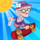 Angry Gran Skater Run MOD Lots of money/all unlocked