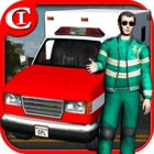 Crazy Ambulance King 3D MOD всё открыто