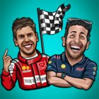 F1 Drivers Stickers from fans Full