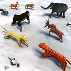 Animal Kingdom Battle Simulator 3D MOD много камней