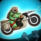 Zombie Shooter Motorcycle Race MOD много монет