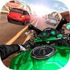 Moto Rider In Traffic MOD много денег