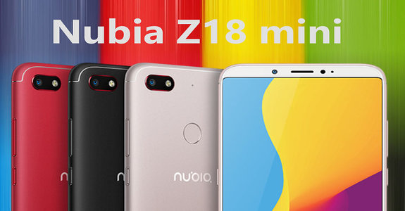 The new smartphone Nubia Z18 mini