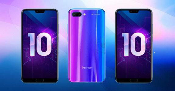 Анонс стильного смартфона Honor 10