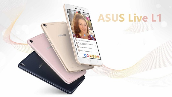 ASUS Live L1 smartphone that is available to everyone