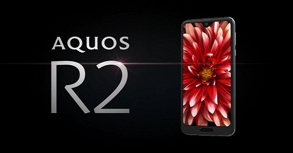 Announcement of the new flagship Sharp Aquos R2