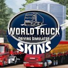 Skins World Truck Driving Simulator MOD много денег