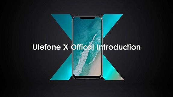 Ulefone X - еще одна китайская копия известного IPhone X