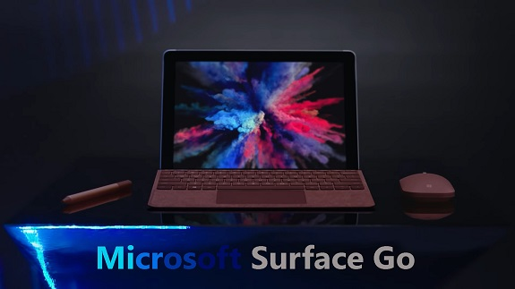 New and compact tablet Microsoft Surface Go