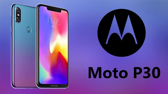 Moto P30 budget Android for fans of the design of the iPhone X