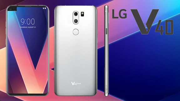 The first concept LG V40