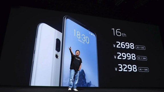 Meizu 16th is not yet on sale, but already in short supply