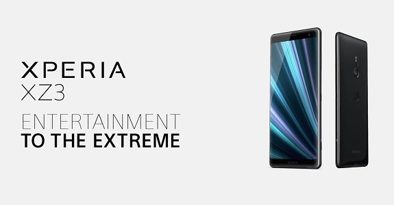 Introduced a new smartphone Sony Xperia XZ3