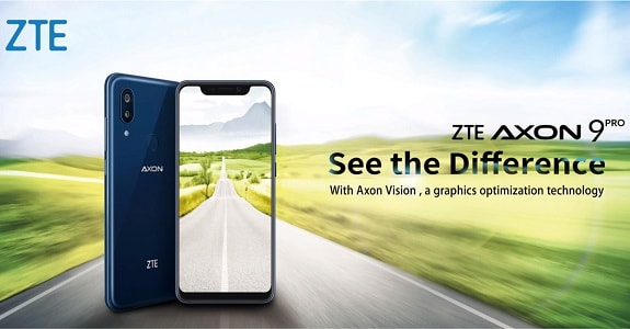 ZTE Axon 9 Pro another smartphone that repeated design IPhone X