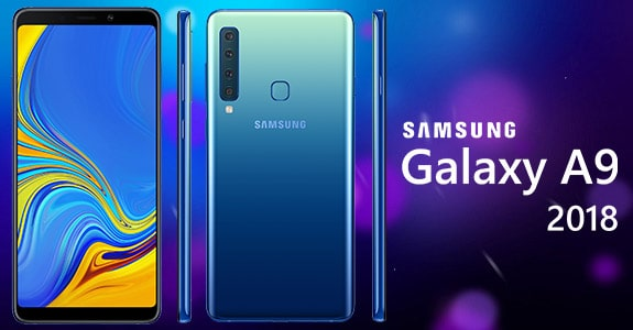 Galaxy A9 (2018) middling smartphone with a large number of cameras
