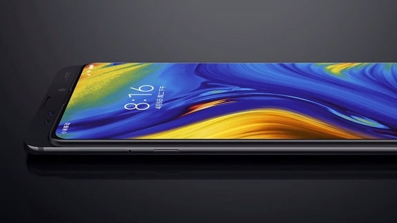 New Lenovo Z5 Pro smartphone-slider with a thin frame and two front-facing camera