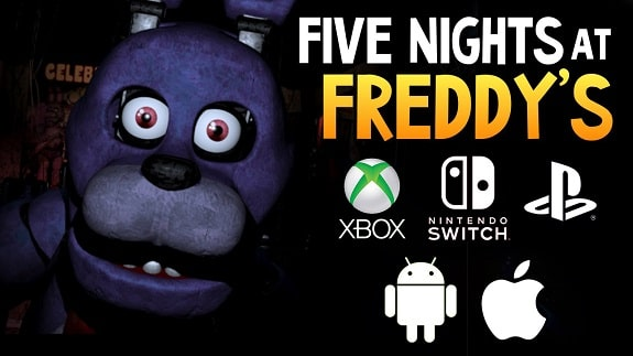 The famous horror Five Nights at Freddy's will soon appear on consoles and smartphones