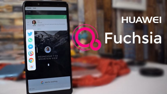 Huawei obsessed with mastering the new Fuchsia OS