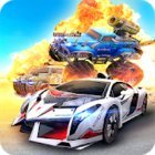 Overload: Multiplayer Battle Car Shooting Game MOD режим бога/бессмертие