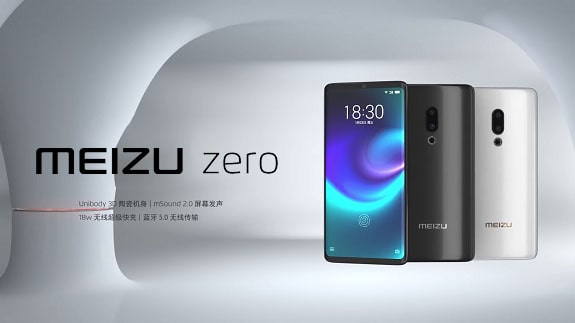 Meizu Zero, a smartphone that refused connectors