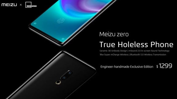 Meizu company in search of funds for the production of Meizu Zero