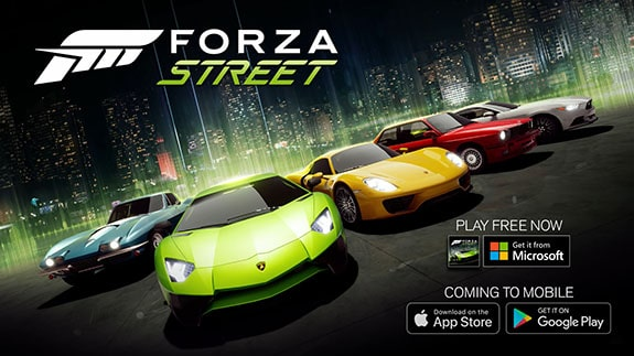 Microsoft decides to release a mobile version of Forza Street