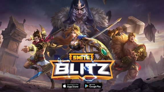 SMITE Blitz is now available for mobile platforms