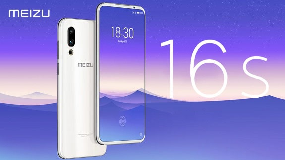 Presented by Meizu 16s, an improved version of the Meizu 16th