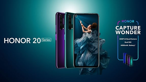 Introduced a series of smartphones Honor 20 and Honor 20 Pro