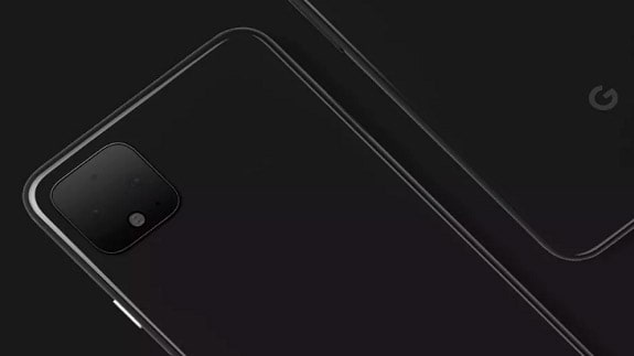 An official image of Google Pixel 4 has appeared on the web