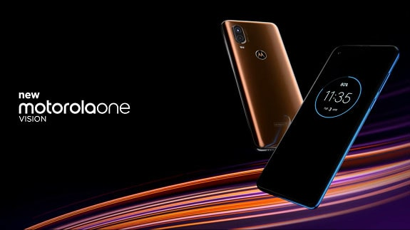 Presented a brand new smartphone Motorola One Vision