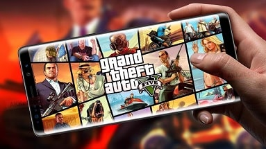 GTA V can now be played on Android