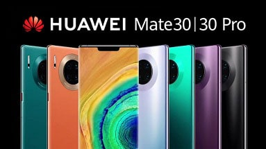 Huawei introduced the new line of Mate 30 and Mate 30 Pro