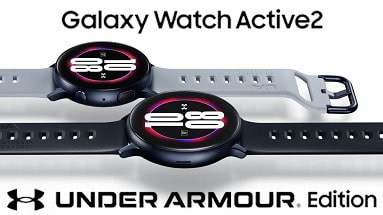 Galaxy Watch Active 2 Under Armor Edition Now Available