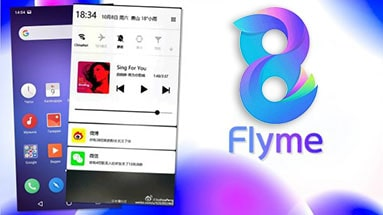 Released stable version of firmware Flyme 8