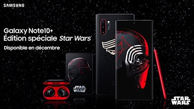 "Galaxy Note 10+ Star Wars Edition, dedicated the new film ""Star Wars"""