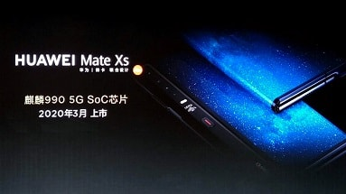 Disclosed the characteristics of the future flexible device Huawei Mate XS
