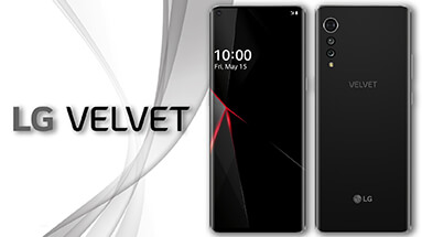 LG Velvet first images of the smartphone