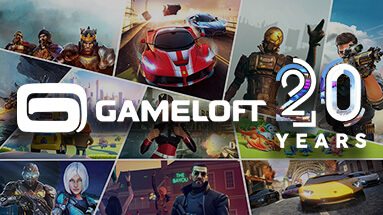 Gameloft Classics: 20 Years - a set of classic games in honor of the 20th anniversary of the company
