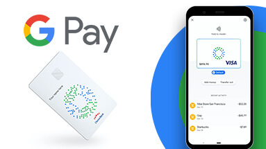 Google Pay Card - own payment card from Google